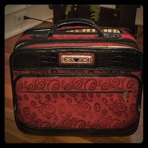 Brighton Cherry Swirl roller bag